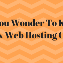 Do You Wonder To Know Wix Web Hosting Cost