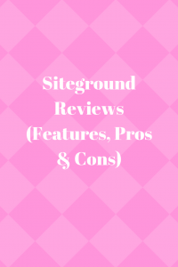 Siteground Reviews (Features, Pros & Cons)